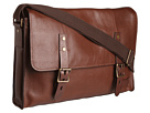 Cole Haan - Greenwich Messenger (Woodbury Grain) - Bags and Luggage