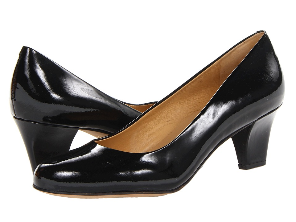 Trotters Penelope (Black Patent Leather) High Heels