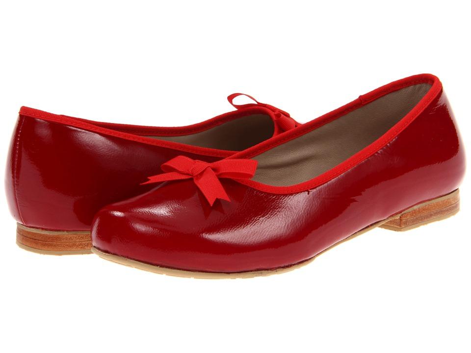 Elephantito Paris Flat (Toddler/Little Kid/Big Kid) (Red Patent) Girl