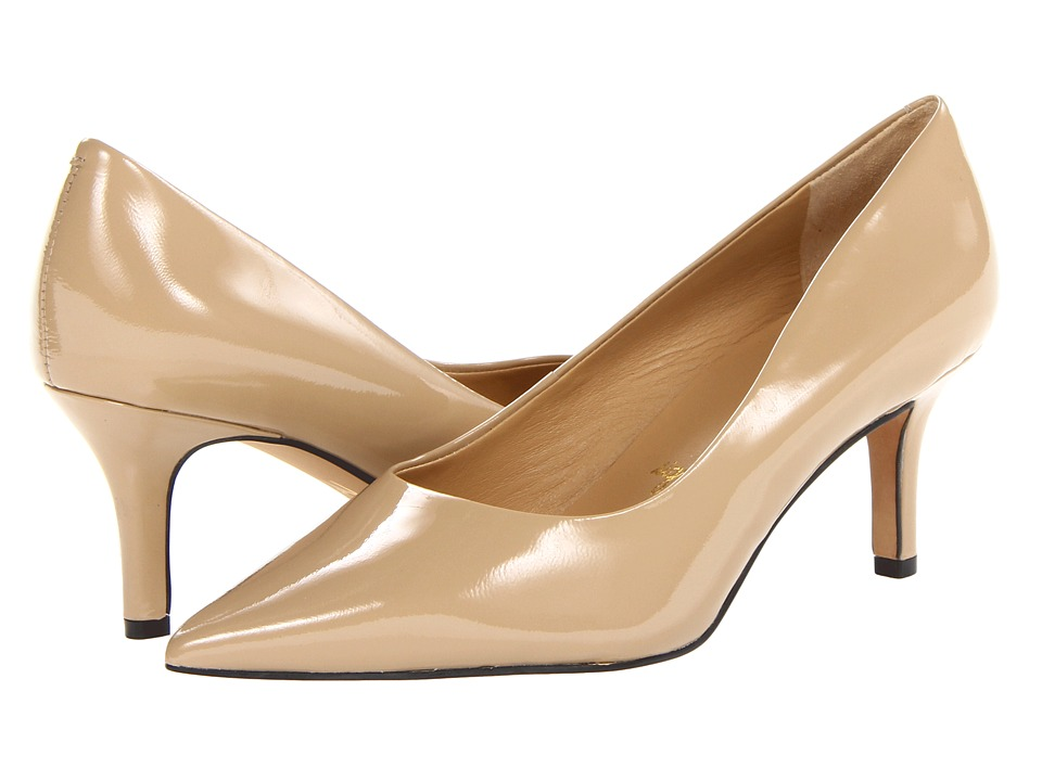 Trotters Alexa (Nude Patent Leather) High Heels