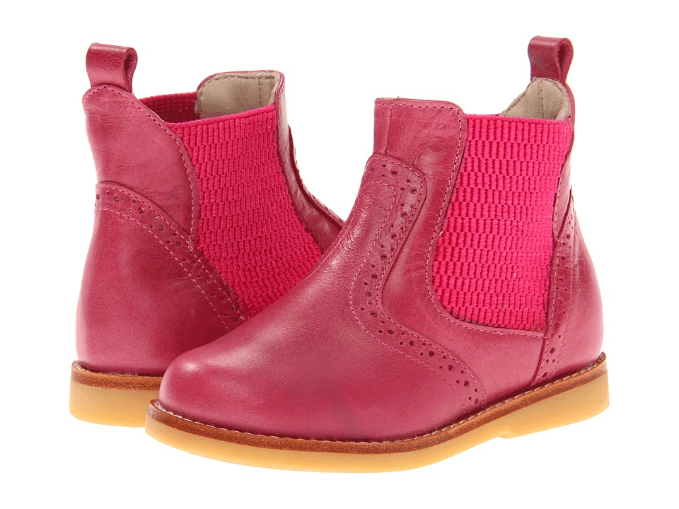 Elephantito Bootie Toddler/Little Kid/Big Kid Bright Pink Girls Shoes