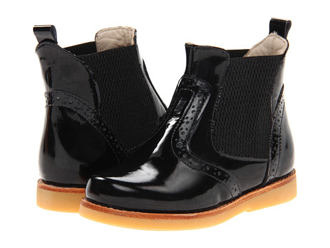 Elephantito Bootie (Toddler/Little Kid/Big Kid) - Black Patent