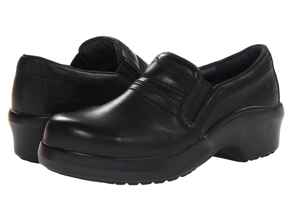 Ariat Expert Safety Clog Composite Toe (Black) Slip-On Shoes