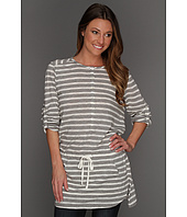 TWO by Vince Camuto - Striped Henley Tunic