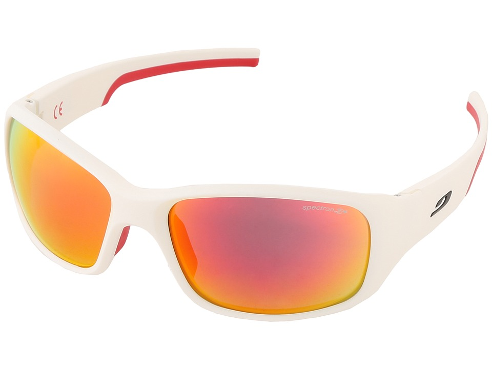 Julbo Eyewear Julbo Stunt Performance Sunglass Matt White/Red Fashion Sunglasses