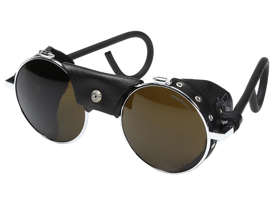 Julbo Eyewear - Julbo Vermont Mountain Sunglass (Black with Spectron 4 Lens) Fashion Sunglasses