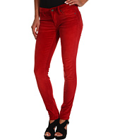 VIGOSS - Jagger Skinny Velvet Basic in Red