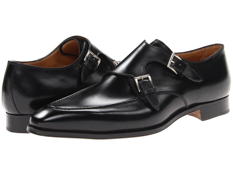 Gravati - Double Monk Toe Stitch (Natural Black) Mens Slip on  Shoes