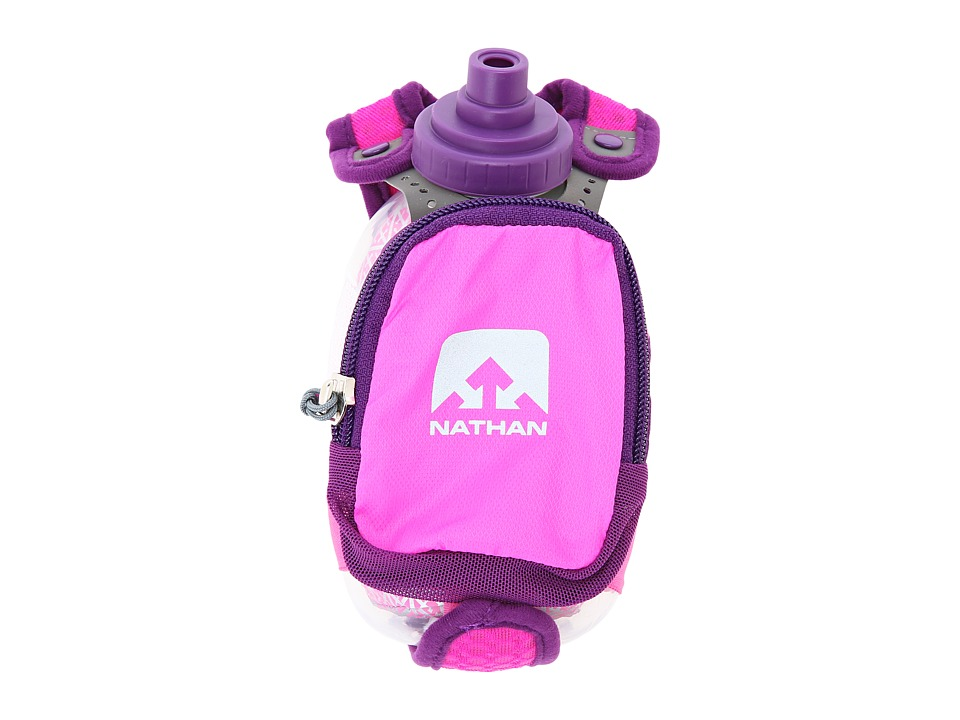 Nathan Insulated QuickShot Plus Floro Fuschia/Imperial Purple Athletic Sports Equipment