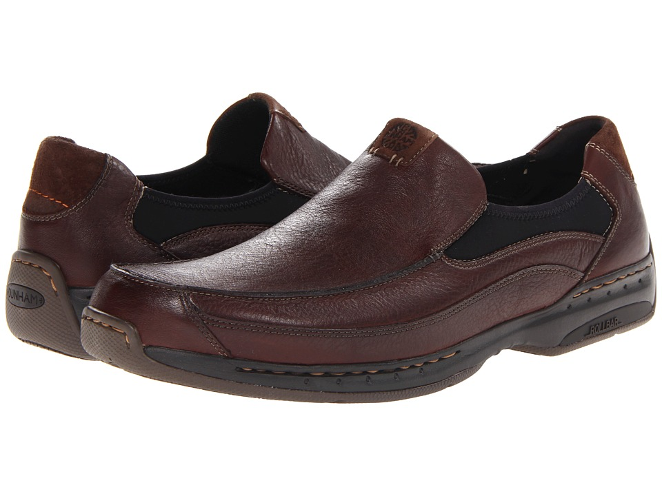 Dunham Wade Slip On (Brown) Men