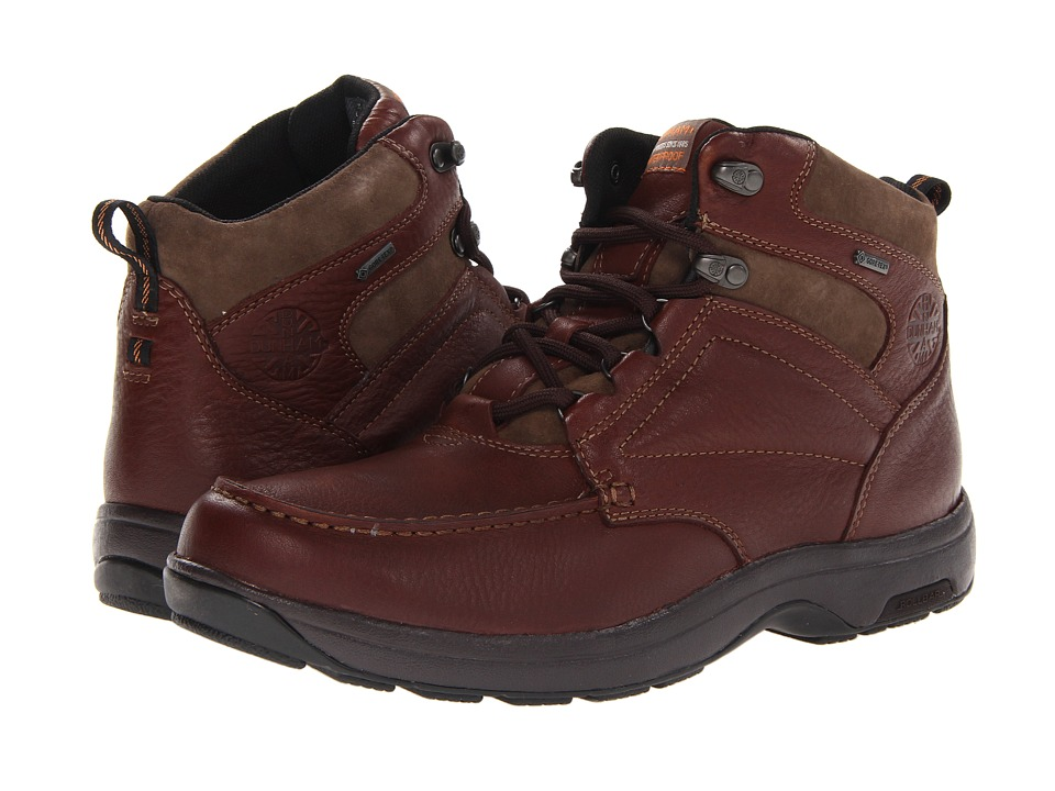 Dunham - Exeter Gore-Tex Moc Toe Chukka (Dark Brown) Men