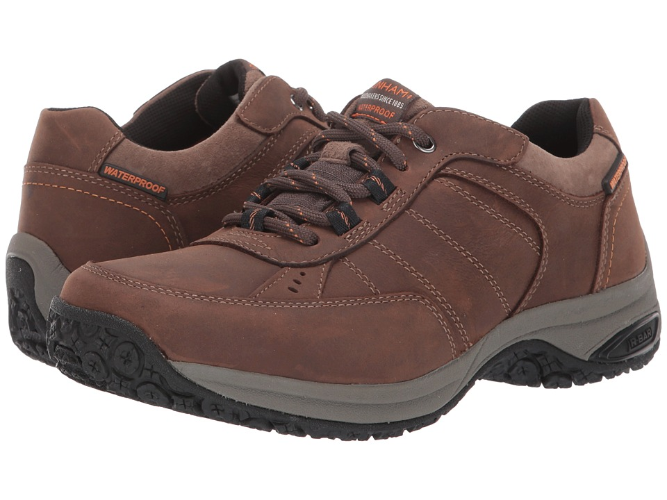 Dunham Lexington Mudguard Oxford Waterproof (Dark Brown) Men