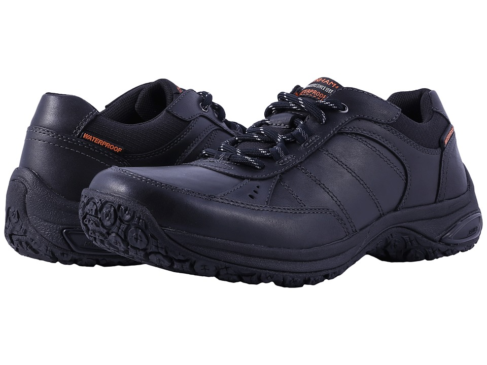 Dunham Lexington Mudguard Oxford Waterproof (Black) Men
