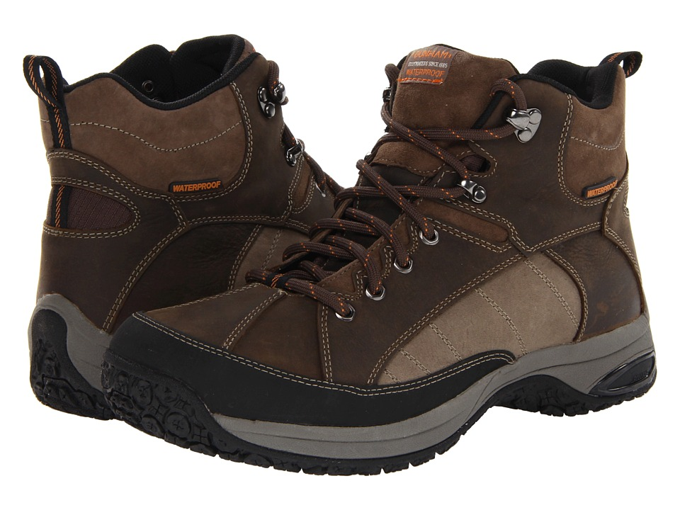 Dunham - Lawrence Mudguard Sport Hiker Waterproof (Brown) Mens Hiking Boots
