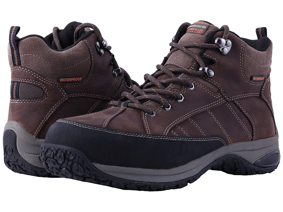 Dunham Lawrence Sport Boot Steel toe (Dark Brown) Men's L...