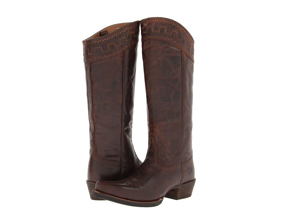 Ariat Sahara (Sassy Brown) Cowboy Boots
