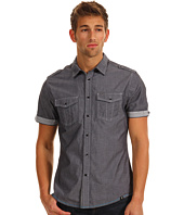 Marc Ecko Cut & Sew - Chambray w/ Stripe Trim