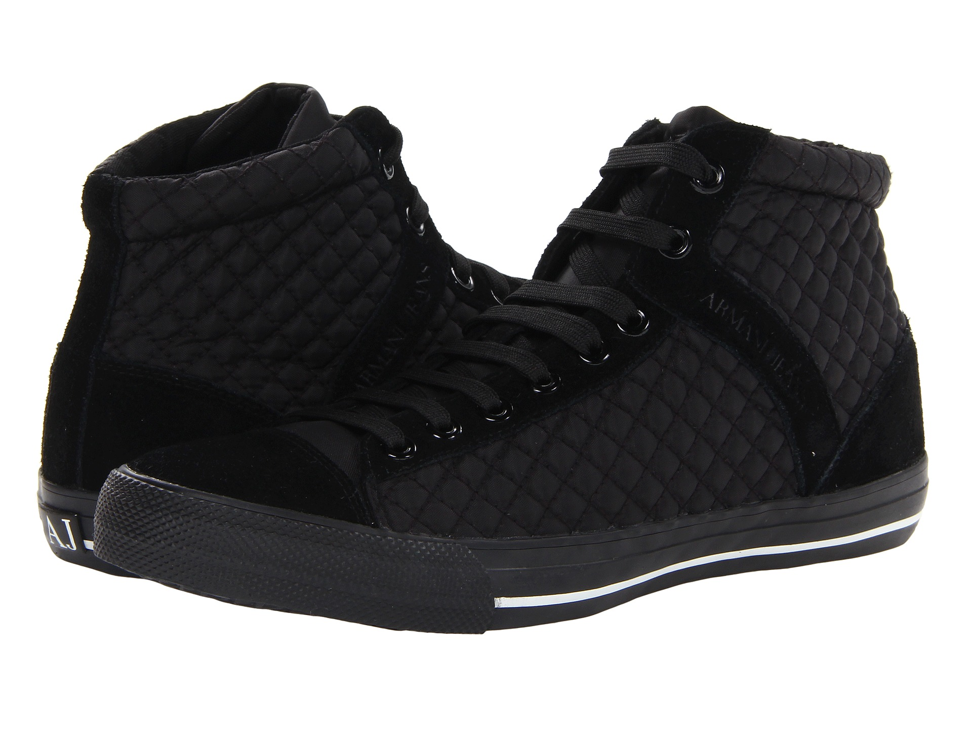 Мужские кроссовки (кеды) Armani Jeans Quilted High Top Sneaker.  Мужские кроссовки (кеды) Timberland TiTAN Oxford...