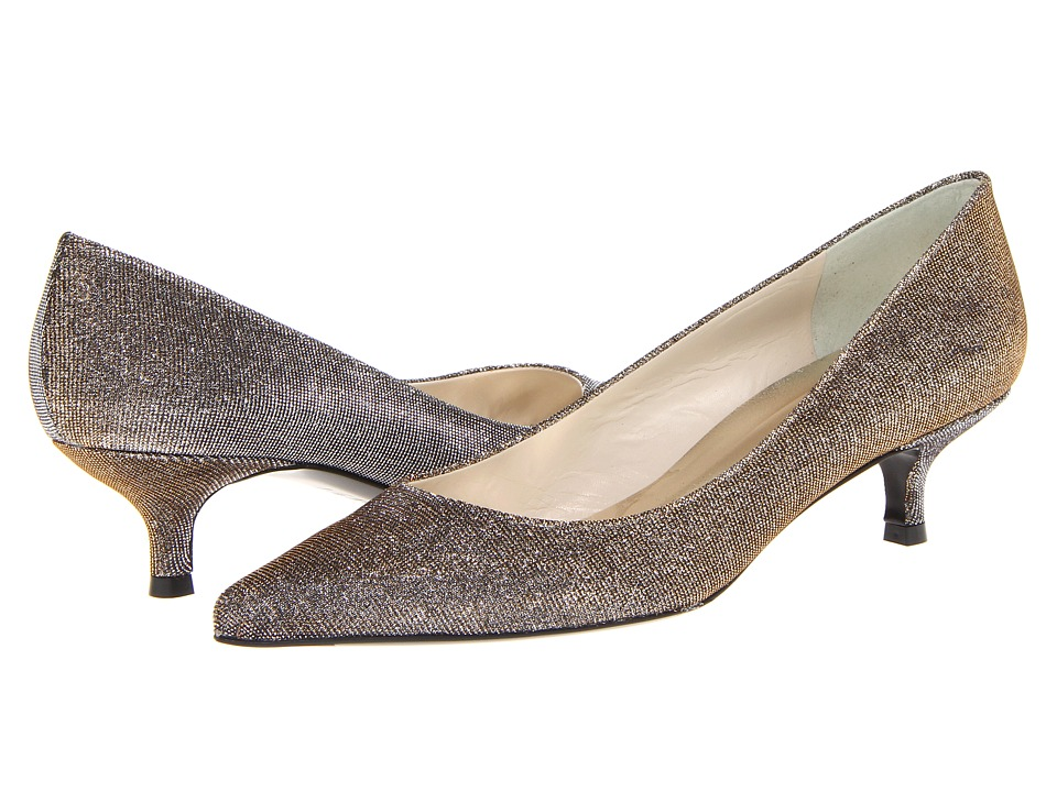 Stuart Weitzman Poco (Pyrite Nocturn) Women's Slip-on Dress Shoes