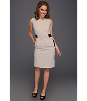 Calvin Klein - Color Block Accent Sheath Dress
