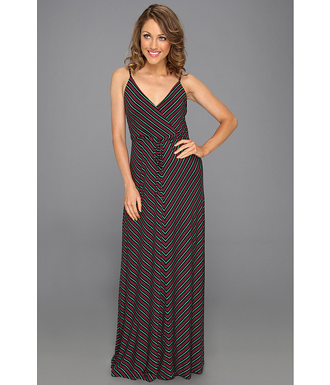 Cheap Calvin Klein Striped Maxi Tank Dress Multi
