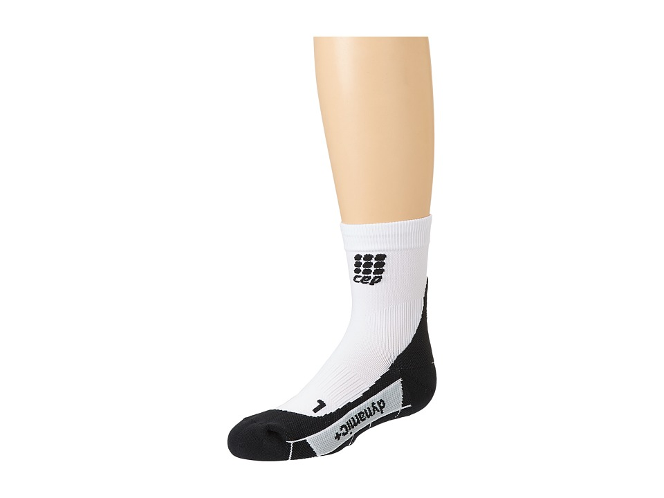 CEP Dynamic Run Socks White/Black Athletic Sports Equipment