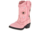 Roper Kids Western Lights Cowboy Boots (Toddler) (Pink/Pink)