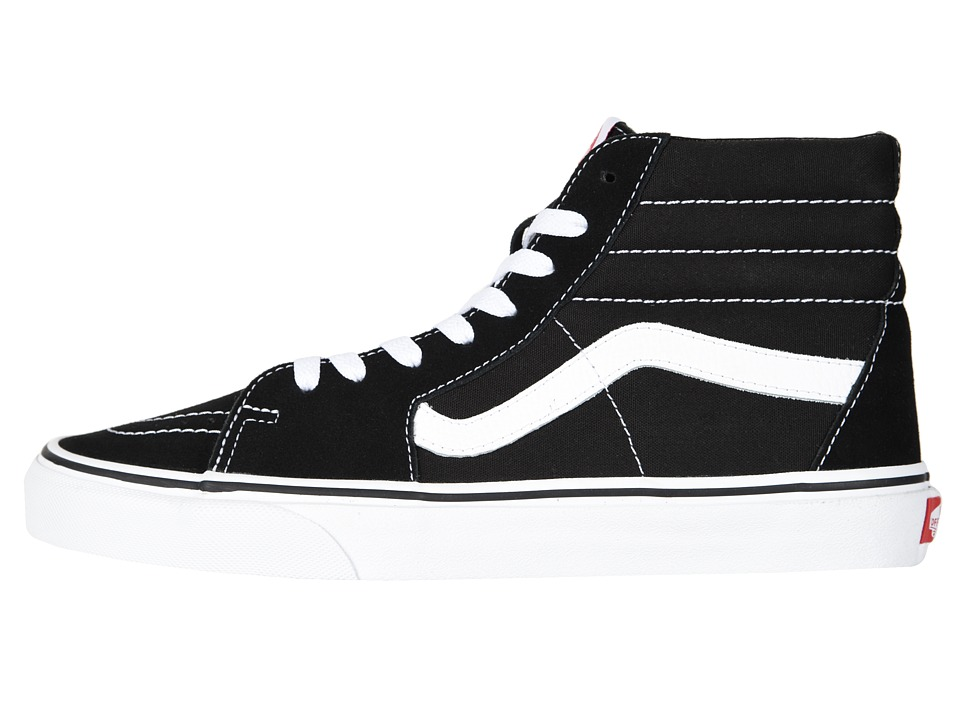 Vans High Tops Black And White