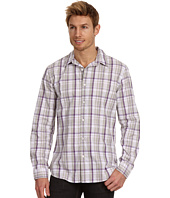DKNY Jeans - L/S Heathered Plaid Slim Fit Shirt