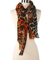 Betsey Johnson - Pleated Animal Scarf