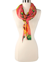 Betsey Johnson - Pleated Gypsy Rose Scarf
