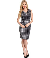Tahari by ASL - Allison Cotton Poplin Dress