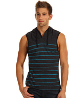 Marc Ecko Cut & Sew - Striped Sleeveless Hoodie