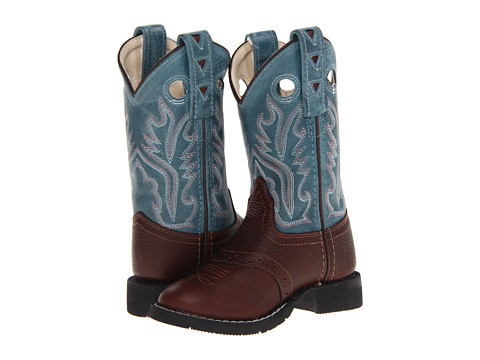 Old West Kids Boots Comfort Wear Boot (Toddler/Little Kid)