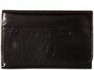 Hobo Jill Trifold Wallet (Black Vintage Leather)