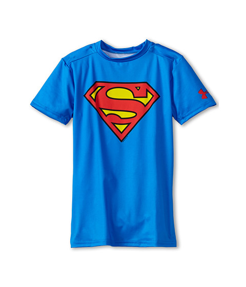 Under Armour Kids Alter Ego DC® Comics Superman S/S Fitted Shirt (Little Kids/Big Kids)