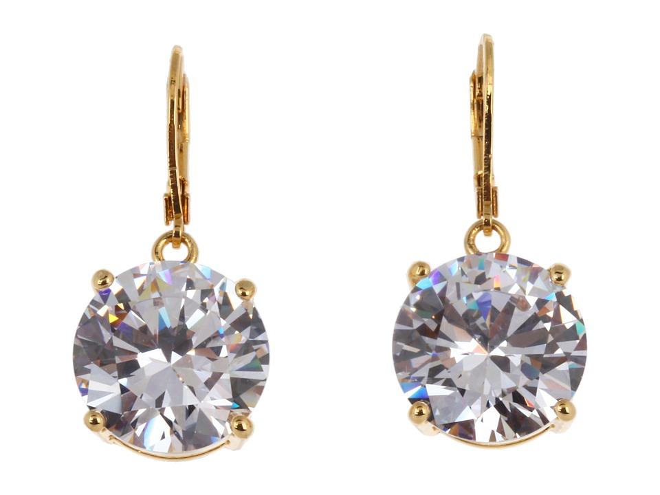 Betsey Johnson - Drop Crystal Earrings