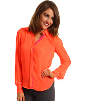 Joe's Jeans - Neon Button Down Blouse