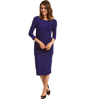 Kenneth Cole New York - High Neck Ruched Dress