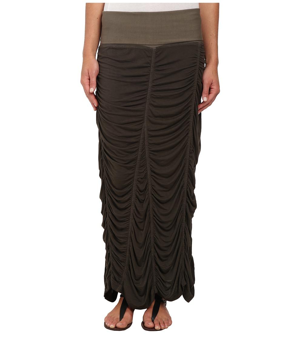 XCVI Jersey Peasant Skirt Silt Womens Skirt