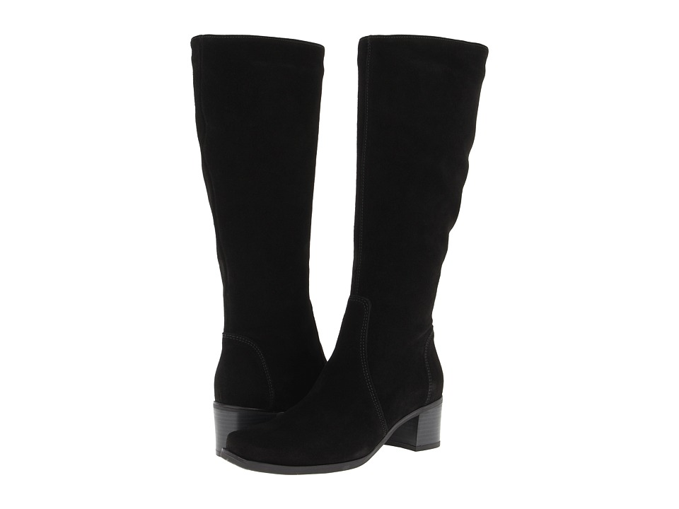 La Canadienne - Jenny (Black Suede) Women's Dress Boots