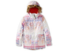 Burton Kids - Girls Willow Jacket (Little Kids/Big Kids) (Faded Fair Isle Print) - Apparel