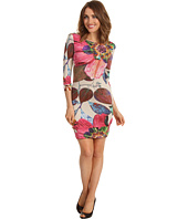 ABS Allen Schwartz - Three-Quarter Sleeve Boatneck Tee Dress