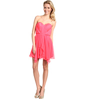 ABS Allen Schwartz - Strapless Sweetheart Dress w/Hi Low Back