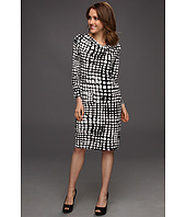 Jones New York - 3/4 Sleeve Cowl Neck Dress