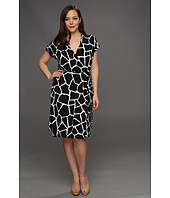 MICHAEL Michael Kors Plus - Plus Size Mod Girfe Sl Wrap Dress