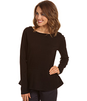 Jones New York - L/S Peplum Top