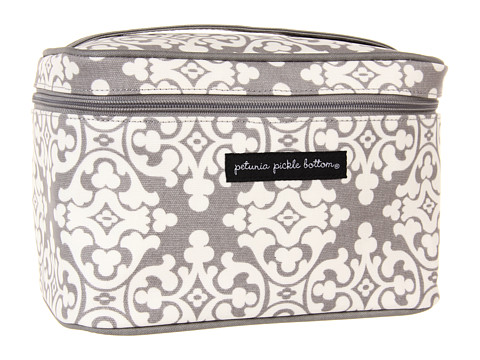 petunia pickle bottom Glazed Travel Train Case - Breakfast in Berkshire
