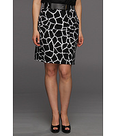 MICHAEL Michael Kors Plus - Plus Size Mod Giraffe Pencil Skirt