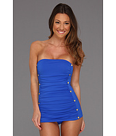 Juicy Couture - Miss Divine Hearts Button Bandeau Swimdress